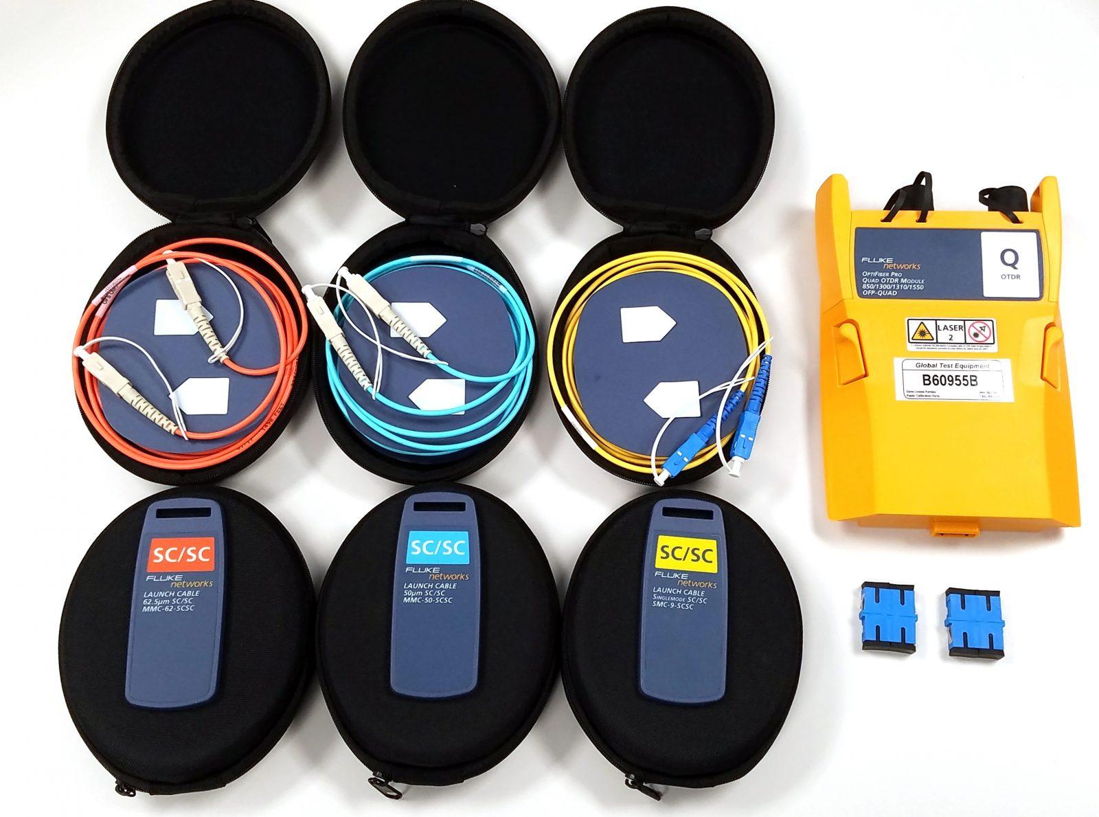 Fluke OFP-100-Q Quad Optifiber Pro OTDR for Singlemode and Multimode Daily Rental